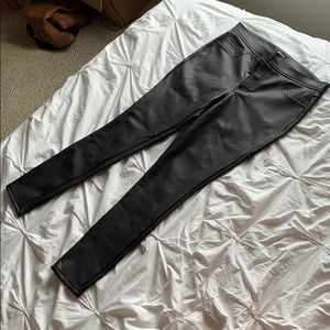 NWOT Express Faux Leather Leggings